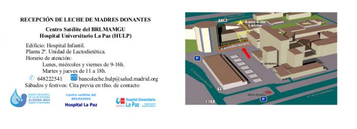 centro satélite banco de leche La Paz